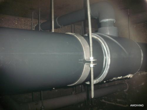 Bufferkelder reparatie met M12 draadeinden