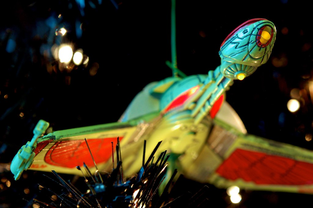 Klingon Bird Of Prey On The Star Trek Christmas Tree 2012 | Photos ...