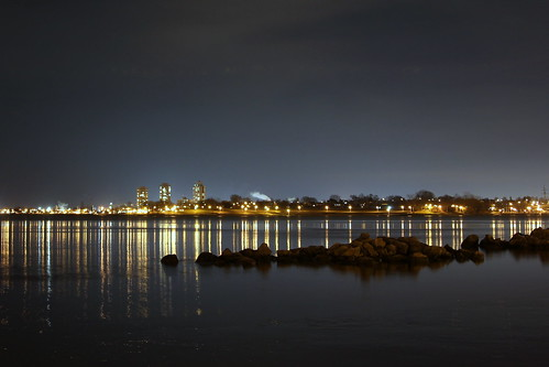 Bayfront At Night
