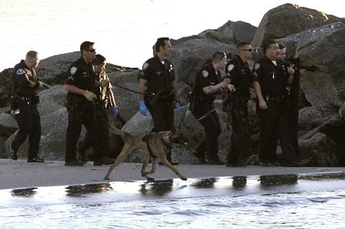 LAPD Venice Beach 1-17-13