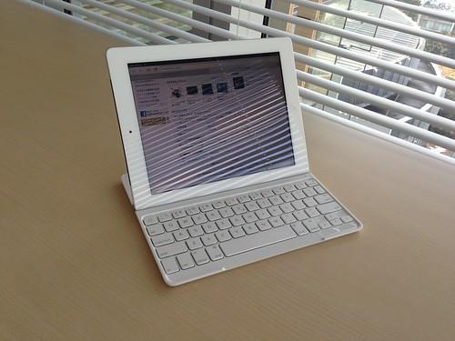 iPad ロジクールキーボード Logicool Ultrathin Keyboard Cover