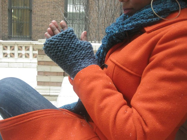 Knockout Fingerless Gloves