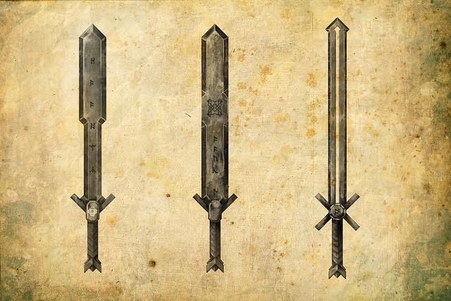 Dwarven Sword Concept