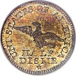 1792 Half Disme rev