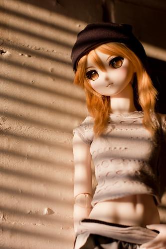 Tsukiko in street style fashion