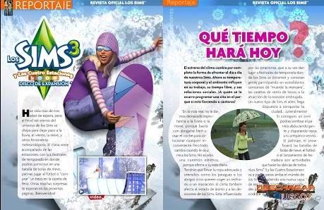 Revista Los Sims 2