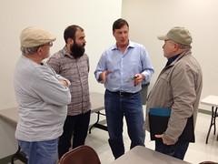 January 2013 meeting with Sen. Brandon Smith