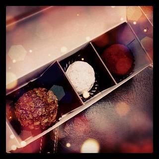ちょっと早いバレンタイン的なチョコつくった(●'ω'●) #chocolate #sweets