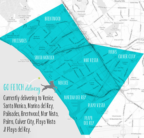 Go Fetch Delivery Map - Feb 2013