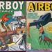 Airboy Vol 4 #5 & Vol 8 #1