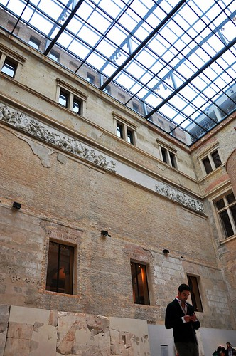 Mixture of new and old at Neues Museum