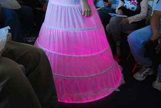 Illuminode.net dress demonstration.