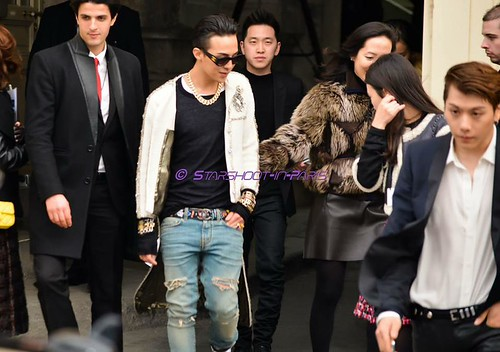 G-Dragon - Chanel Fashion Show - 27jan2015 - StarshootinP - 03