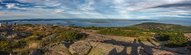 Panoramic View from Cadillac Mountain (Bar Harbor, Maine)