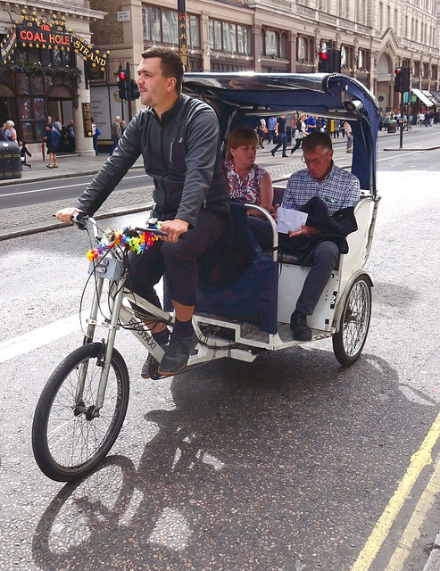Trishaw on the The Strand