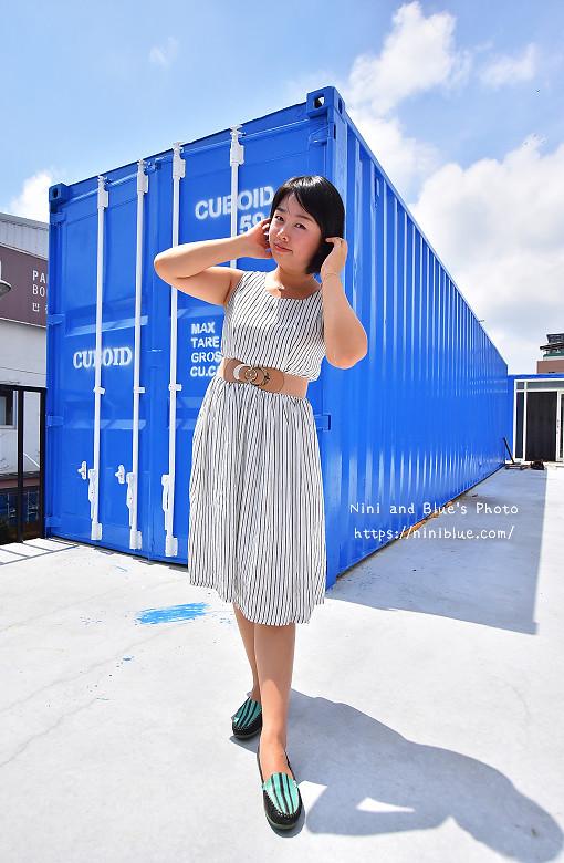 Cuboid台中人氣貨櫃冰飲藍色貨櫃15