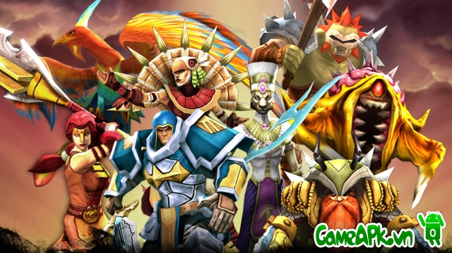 Legendary Heroes MOBA v2.1.9 hack full cho Android