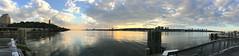 Hudson Sunset Pano