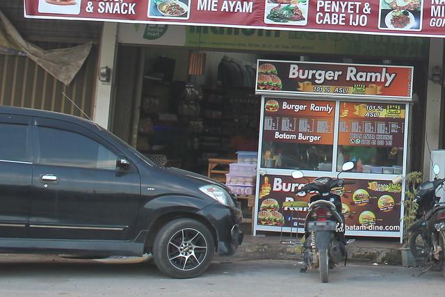 Gerobak Burger Ramly