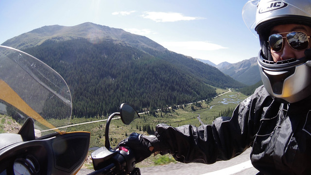 Descending Independence Pass, CO