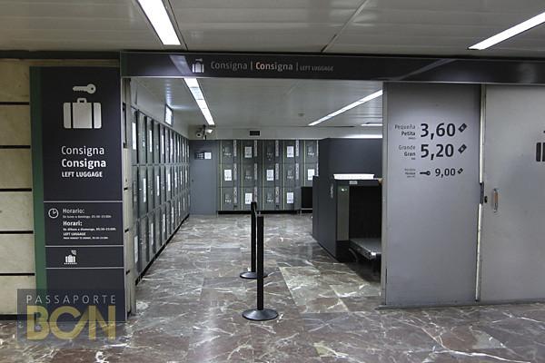 estação de trem Barcelona Sants