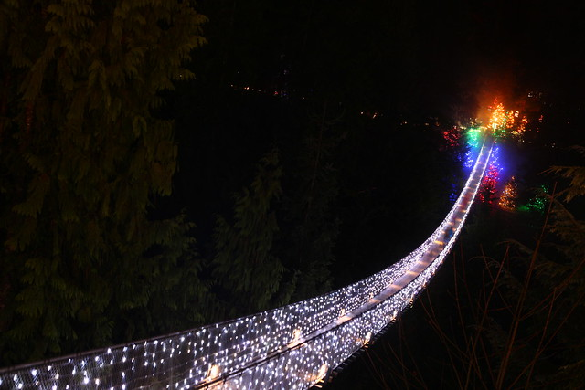 Canyon Lights 2012 @ Capilano Suspension Bridge