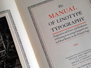 The Manual Of Linotype Typography book