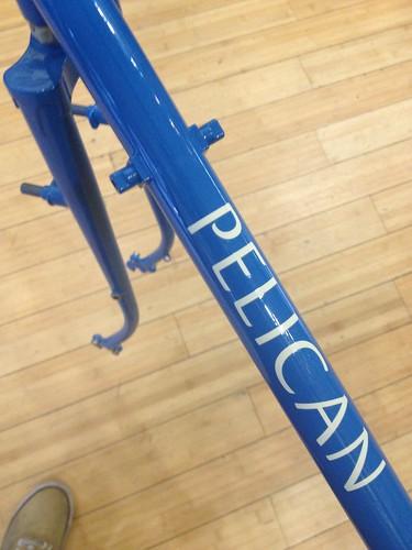 Winter Bicycles built Pelican