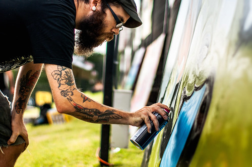 Graffiti Artist at SkateStock Houston | 2012-001