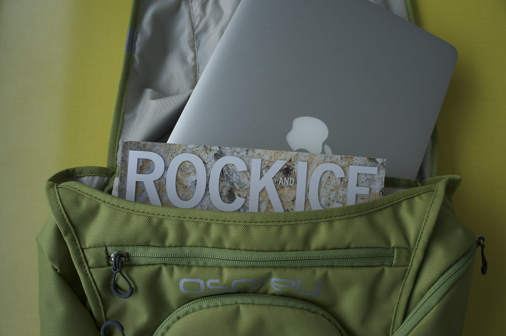 Osprey Flap Jill Pack   Laptop compartment
