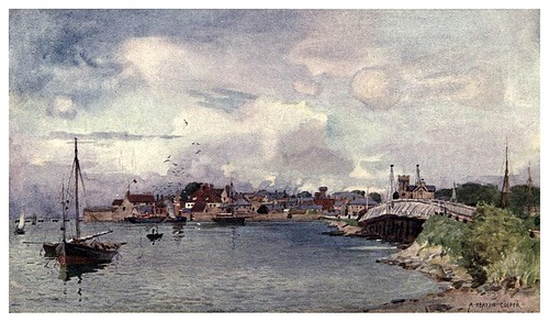 020-Yarmouth-Isle of Wight (1908)-Alfred Heaton Cooper