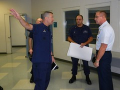 MCPOCG tours new MFPU-Bangor facilities