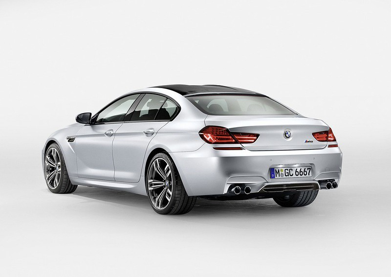 2013 m6 gran coupe rear