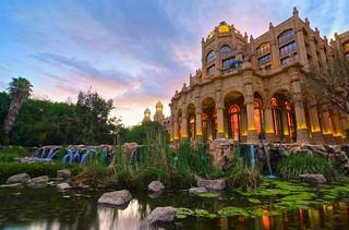 The Palace & Sunset