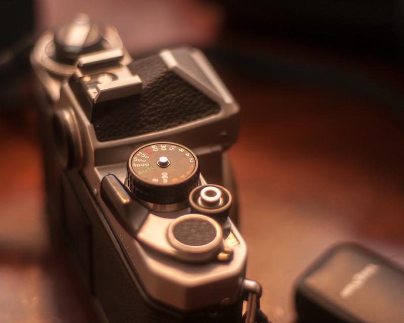 testing a Nikon 50mm F1.8 AI MF