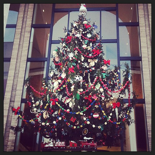 #christmas tree at Lincoln Center #nyc #newyork #holidays