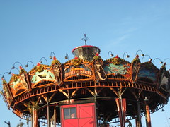 carousel on the Ile de Nantes (c2012 FK Benfield)
