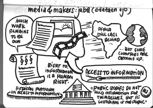 Media & Makers: Juba – Edetaen Ojo