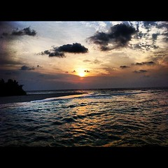 Sunset view #photography #husseinphotography #iphone #soneva #island