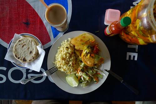 Lunch - Apaneca, El Salvador