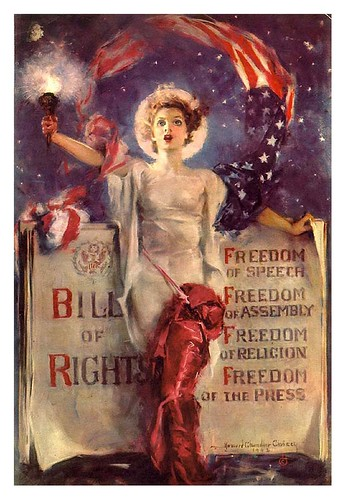 004-Bill of Rights, Four Freedoms, 1941-42-Howard Chandler Christy -Lafayette College Special Collections