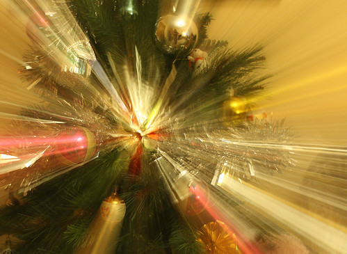 Zoomburst Christmas tree by Helen in Wales