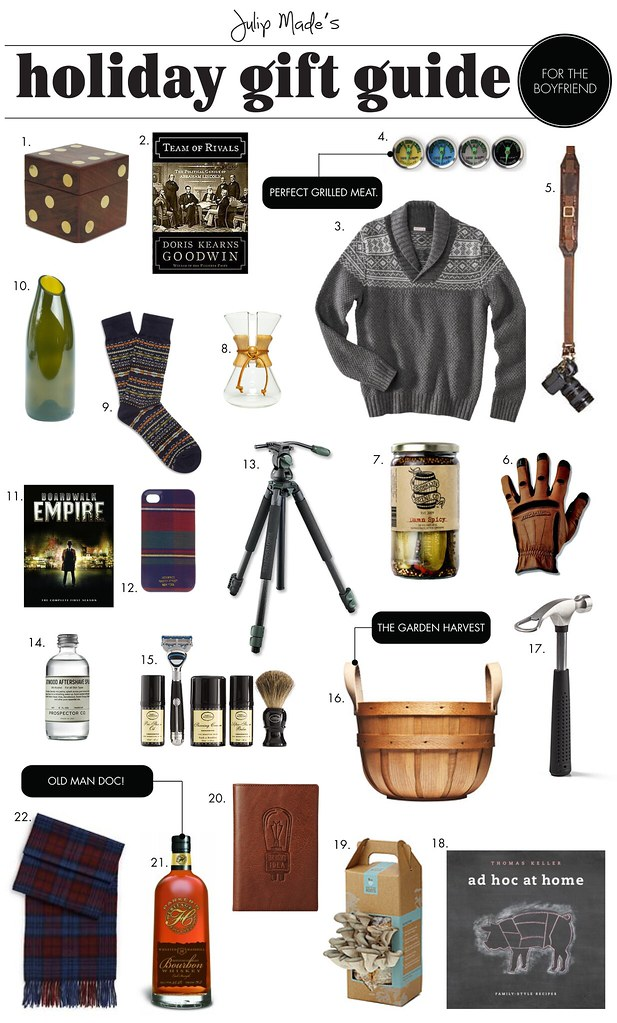 Julip Made holiday gift guide for the dad