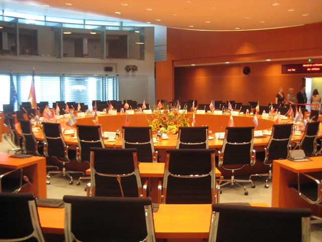 Internationaler Konferenzsaal im Bundeskanzleramt