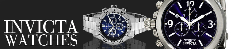 Invicta watches banner