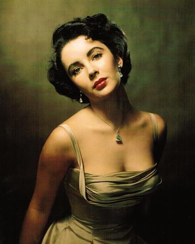 Halsman, Philippe (1906-1979) - 1948 Elizabeth Taylor by RasMarley