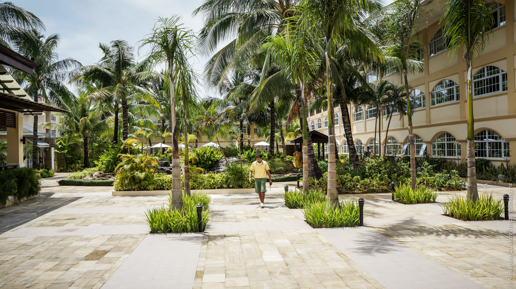 Территория отеля Boracay Garden Resort