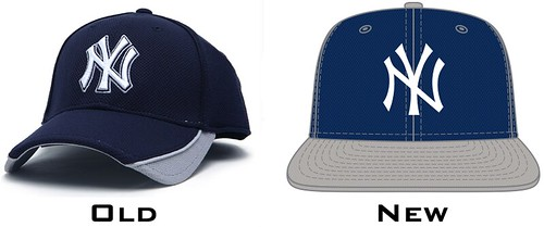 New York Yankee road batting practice cap