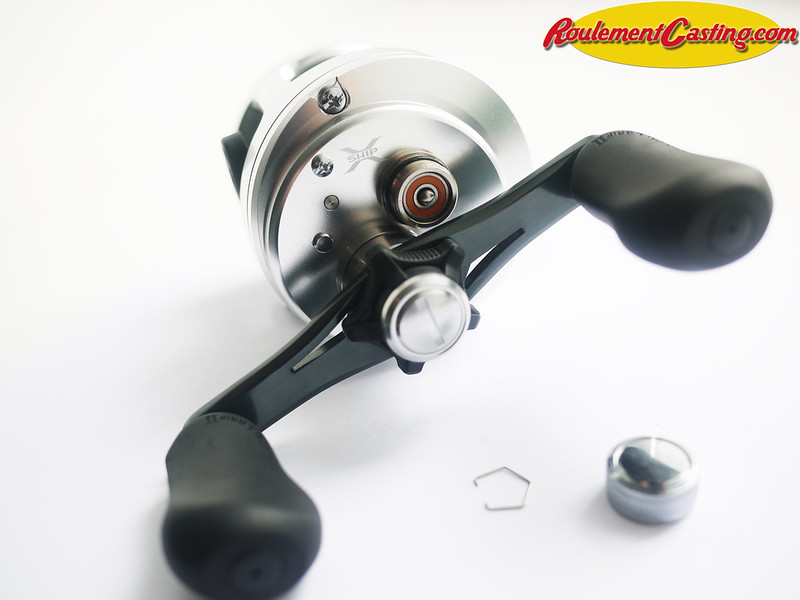 Shimano Calcutta 201D Orange seals BocaBearings 16