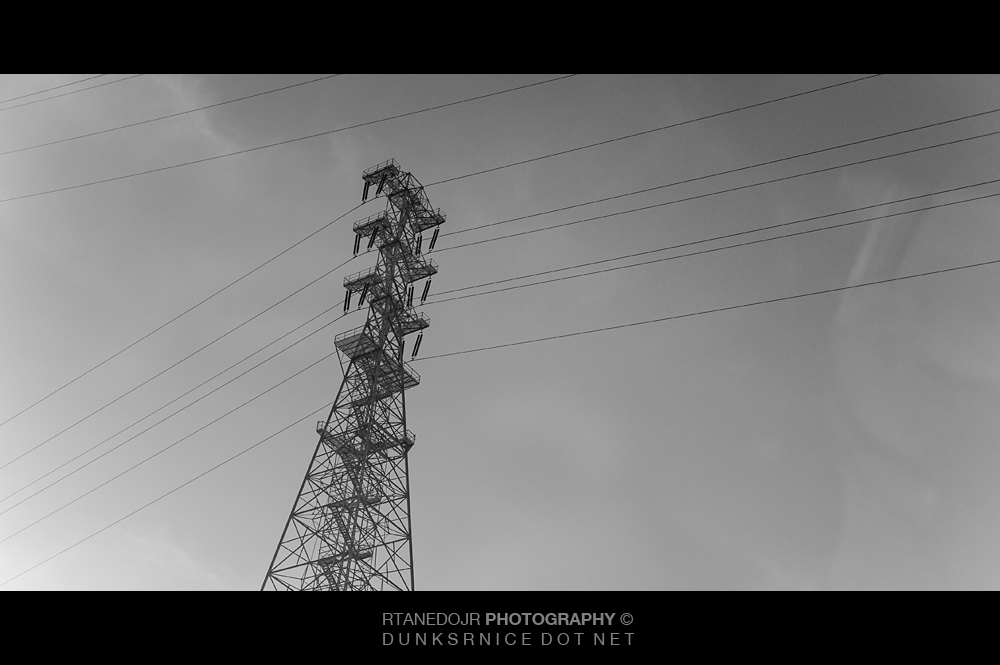 Tower B&W.